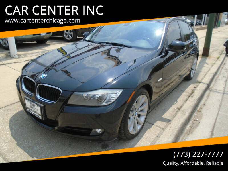 2011 BMW 3 Series for sale at CAR CENTER INC in Chicago IL