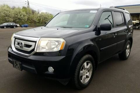 2010 Honda Pilot for sale at Angelo's Auto Sales in Lowellville OH