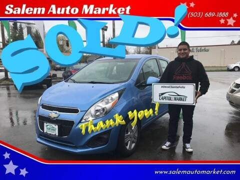2013 Chevrolet Spark for sale at Salem Auto Market in Salem OR