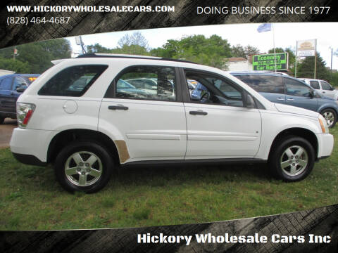 2008 Chevrolet Equinox for sale at Hickory Wholesale Cars Inc in Newton NC