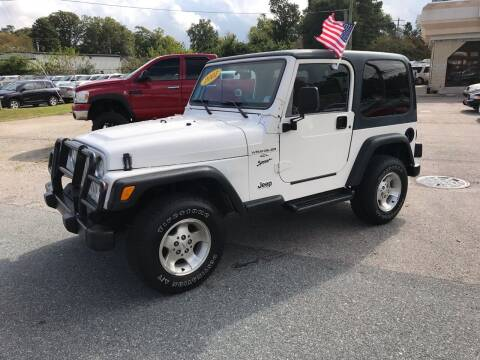 2001 Jeep Wrangler for sale at Mega Autosports in Chesapeake VA
