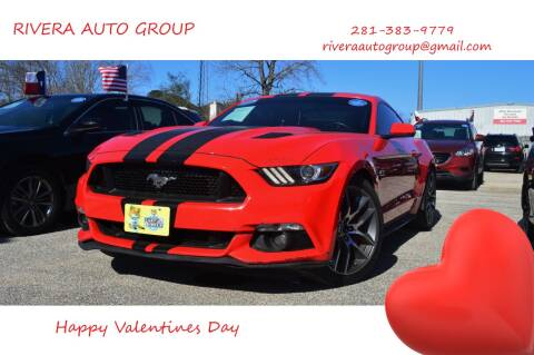 2016 Ford Mustang for sale at Rivera Auto Group in Spring TX