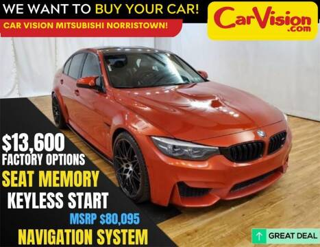 2018 BMW M3 for sale at Car Vision Mitsubishi Norristown in Norristown PA