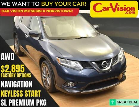 2016 Nissan Rogue for sale at Car Vision Mitsubishi Norristown in Norristown PA