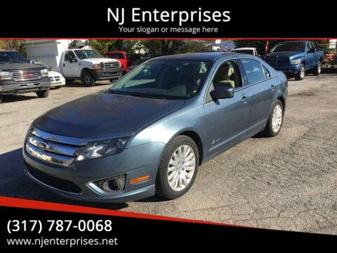 2011 Ford Fusion Hybrid for sale at NJ Enterprises in Indianapolis IN