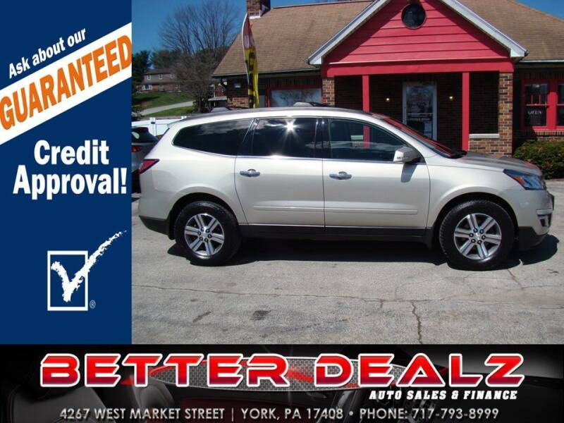 2015 Chevrolet Traverse for sale at Better Dealz Auto Sales & Finance in York PA