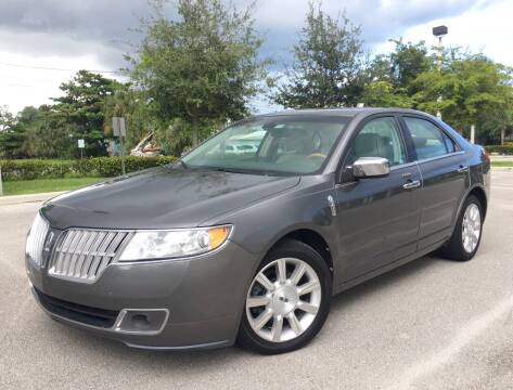 2010 Lincoln MKZ for sale at FIRST FLORIDA MOTOR SPORTS in Pompano Beach FL