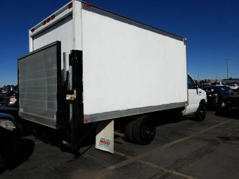 2011 SOLD...Ford Box Truck with Rail Gate for sale at Albers Sales and Leasing, Inc in Bismarck ND