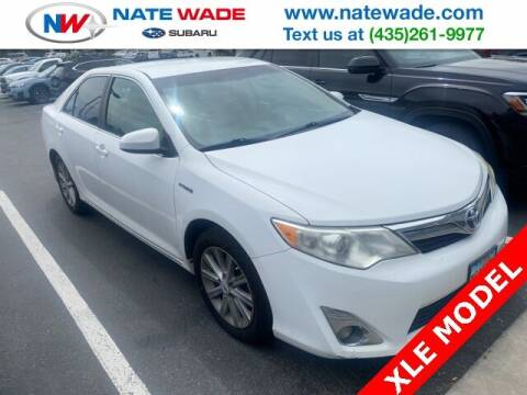 2012 Toyota Camry Hybrid for sale at NATE WADE SUBARU in Salt Lake City UT