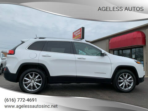 2017 Jeep Cherokee for sale at Ageless Autos in Zeeland MI