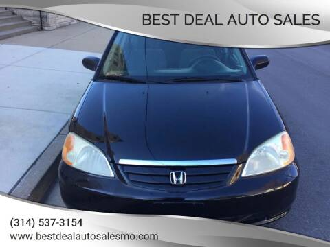 2003 Honda Civic for sale at Best Deal Auto Sales in Saint Charles MO