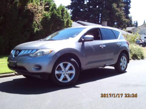 2010 Nissan Murano for sale at Redline Auto Sales in Vancouver WA