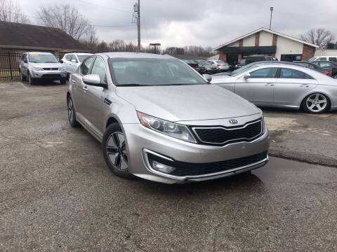 2012 Kia Optima Hybrid for sale at Royal Auto Inc. in Columbus OH