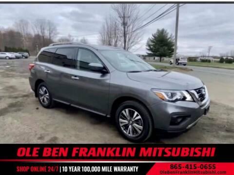 2017 Nissan Pathfinder for sale at Ole Ben Franklin Mitsbishi in Oak Ridge TN