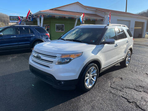 2013 Ford Explorer for sale at PIONEER USED AUTOS & RV SALES in Lavalette WV