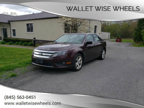 2012 Ford Fusion for sale at Wallet Wise Wheels in Montgomery NY