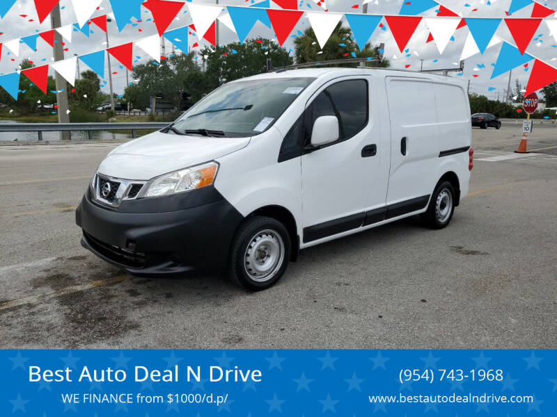 2016 Nissan NV200 for sale at Best Auto Deal N Drive in Hollywood FL