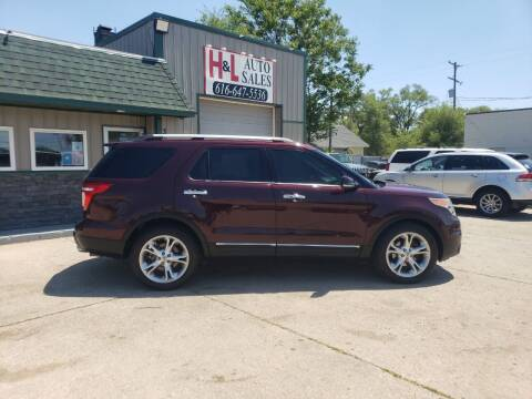 2011 Ford Explorer for sale at H & L AUTO SALES LLC in Wyoming MI