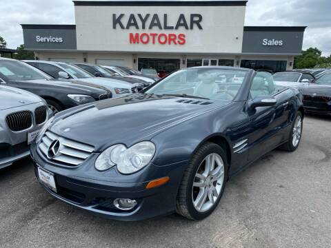 2008 Mercedes-Benz SL-Class for sale at KAYALAR MOTORS in Houston TX