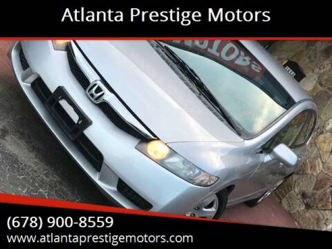 2009 Honda Civic for sale at Atlanta Prestige Motors in Decatur GA