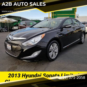 2013 Hyundai Sonata Hybrid for sale at A2B AUTO SALES in Chula Vista CA