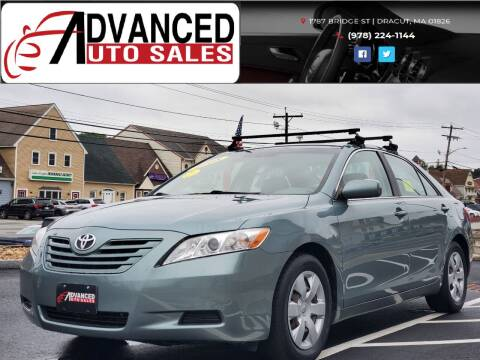 2008 Toyota Camry for sale at Advanced Auto Sales in Dracut MA