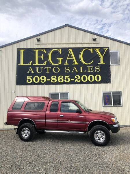 1999 Toyota Tacoma for sale at Legacy Auto Sales in Toppenish WA