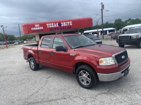 2007 Ford F-150 for sale at Texas Drive LLC in Garland TX