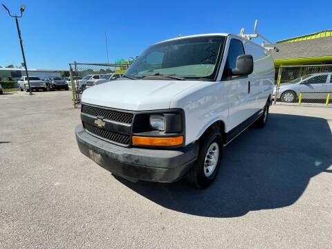 2015 Chevrolet Express Cargo for sale at RODRIGUEZ MOTORS CO. in Houston TX