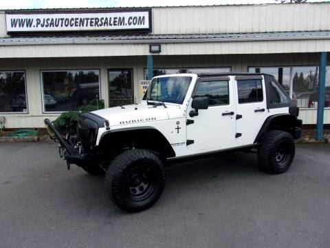 2007 Jeep Wrangler Unlimited for sale at PJ's Auto Center in Salem OR