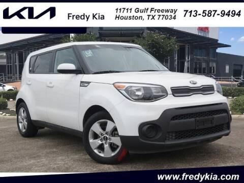 2018 Kia Soul for sale at FREDY KIA USED CARS in Houston TX