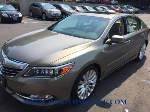 2014 Acura RLX for sale at J & M Automotive in Naugatuck CT