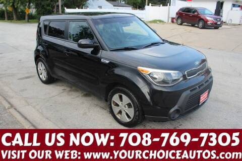 2015 Kia Soul for sale at Your Choice Autos in Posen IL