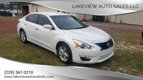 2013 Nissan Altima for sale at Lakeview Auto Sales LLC in Sycamore GA