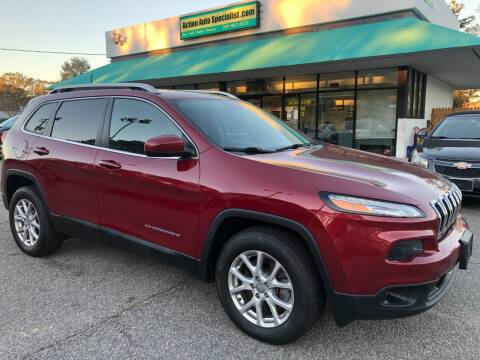2017 Jeep Cherokee for sale at Action Auto Specialist in Norfolk VA