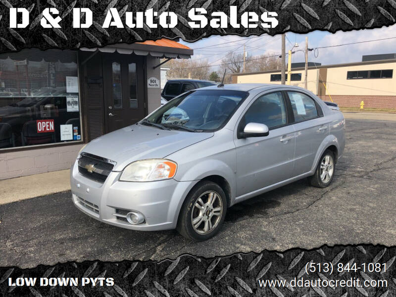 2010 Chevrolet Aveo for sale at D & D Auto Sales in Hamilton OH