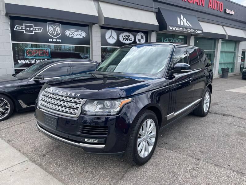 2014 Land Rover Range Rover for sale in Dearborn, MI