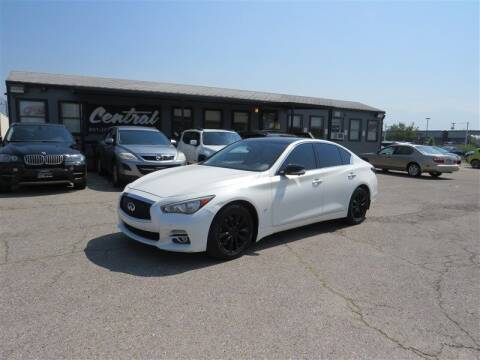 2015 Infiniti Q50 for sale at Central Auto in South Salt Lake UT