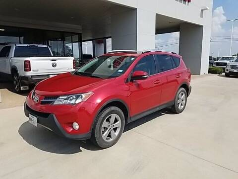 2015 Toyota RAV4 for sale at Jerry's Buick GMC in Weatherford TX