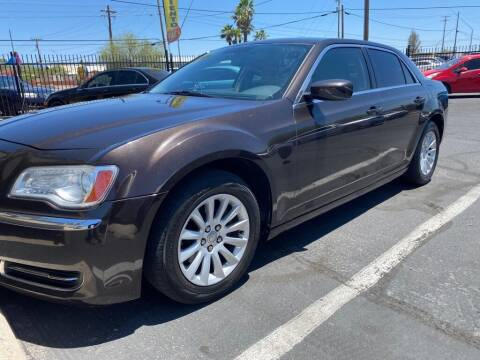 2012 Chrysler 300 for sale at GALAXY MOTORS in Tucson AZ