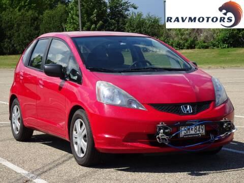 2009 Honda Fit for sale at RAVMOTORS in Burnsville MN