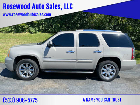 2007 GMC Yukon for sale at Rosewood Auto Sales, LLC in Hamilton OH