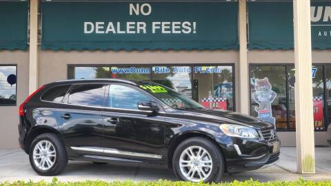 2016 Volvo XC60 for sale at Dunn-Rite Auto Group in Longwood FL