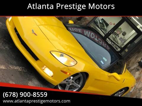2006 Chevrolet Corvette for sale at Atlanta Prestige Motors in Decatur GA