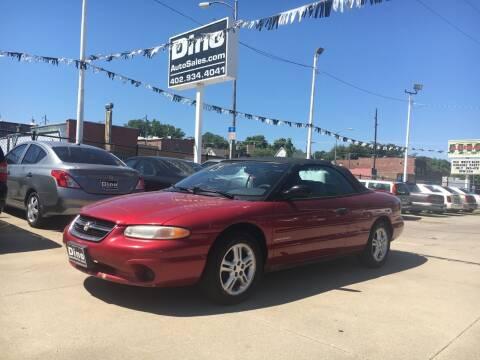 1997 Chrysler Sebring for sale at Dino Auto Sales in Omaha NE