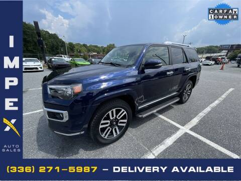 2017 Toyota 4Runner for sale at Impex Auto Sales in Greensboro NC