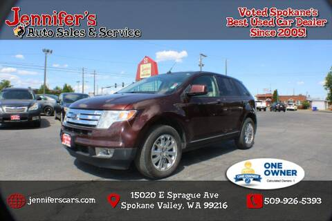 2010 Ford Edge for sale at Jennifer's Auto Sales in Spokane Valley WA