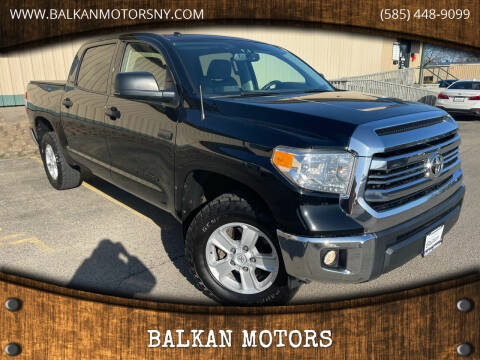 2016 Toyota Tundra for sale at BALKAN MOTORS in East Rochester NY