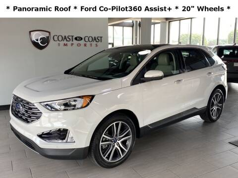 2020 Ford Edge for sale at Coast to Coast Imports in Fishers IN