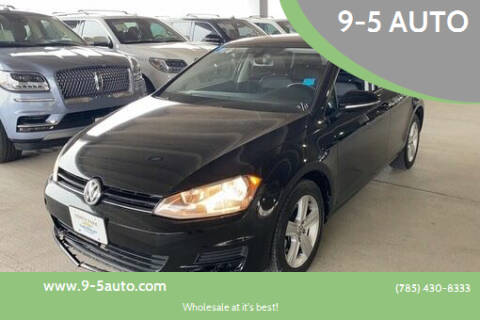 2017 Volkswagen Golf for sale at 9-5 AUTO in Topeka KS